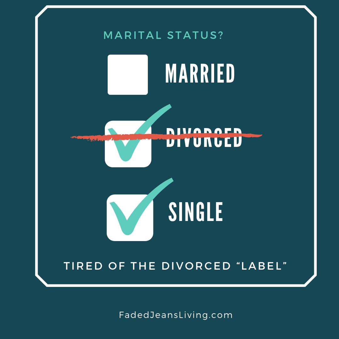 Marital Status Faded Jeans Living